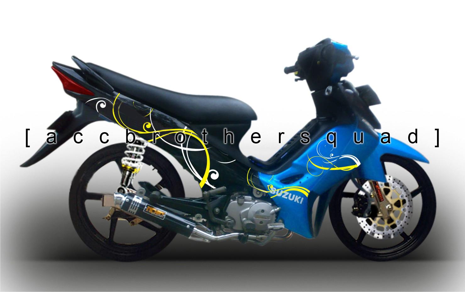 modifikasi motor smash modifikasi sepeda motor